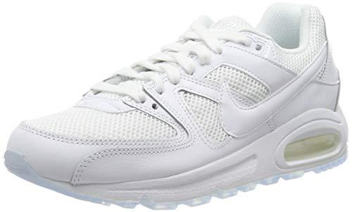 Nike Air Max Command, Scarpe da Running Uomo, Bianco (White/White/White 112), 39 EU