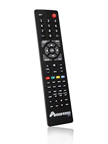 BC46591B bonremo Ersatzfernbedienung passend für SEG LED BLU-TV Barcelona 66 LCD/LED-TV