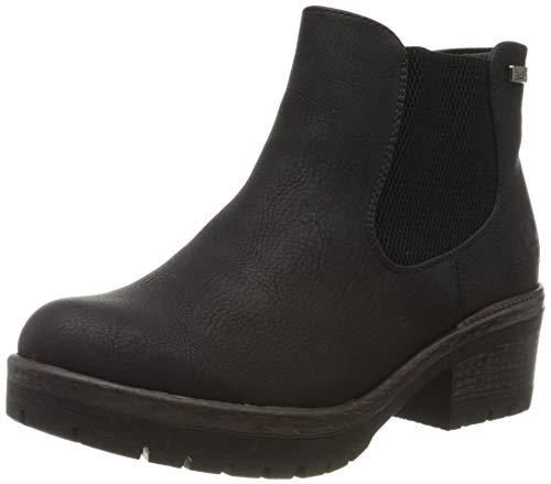 Rieker Damen 95290 Chelsea Boots, Schwarz (schwarz 00), 42 EU