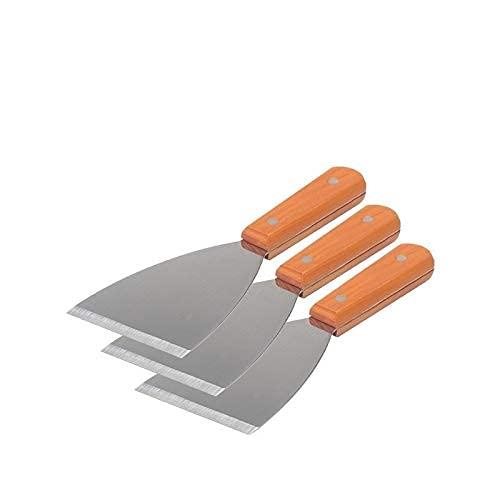 Raschietto in metallo con manico in legno per stampante 3D Piattaforme letto riscaldate Accessori per stampanti