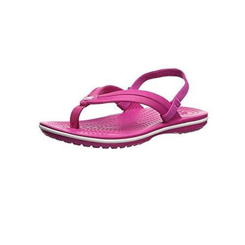 Crocs Unisex-Kinder Crocband Flip Gs Zehentrenner, (Candy Pink 6x0), 34/35 EU