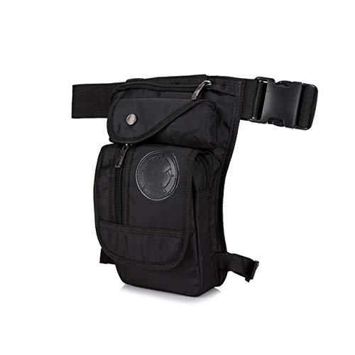 JTKDL Multifunción Hip Bag Bag Pouch DE Viajes para Hombres Y Mujeres (Color : Black)
