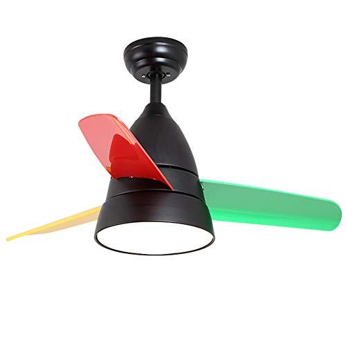 BaoJingYu Moderne LED-Deckenventilator European Style Indoor Mute Energiesparventilator Kronleuchter für Hauptdekoration
