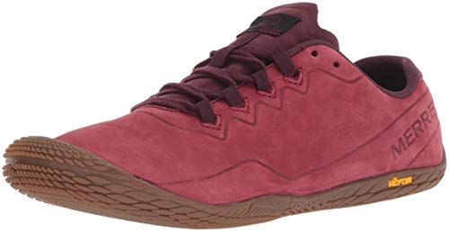 Merrell Damen Vapor Glove 3 Luna Leather Sneaker, Rot (Pomegranate Pomegranate), 38 EU
