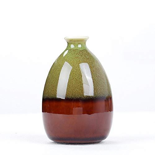 Jarrón de cerámica Planta de Estilo Europeo plantador, Simple florero de cerámica y Creativo, la decoración del hogar artesanía de Navidad y la decoración de Año Style2