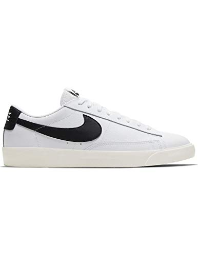 Zapatillas Nike Blazer Low Leather Wht/Black Hombre 43
