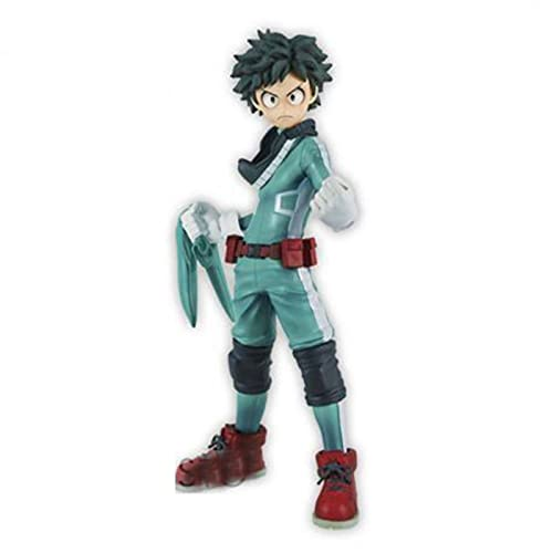 WOERD Figura My Hero Academia 2nd Generation Midoriya Izuku Green Valley Izuku en caja Figura de acción hecha a mano Pvc Character Muñecas Figura de acción Figurita Colección Regalos de cumpleaños