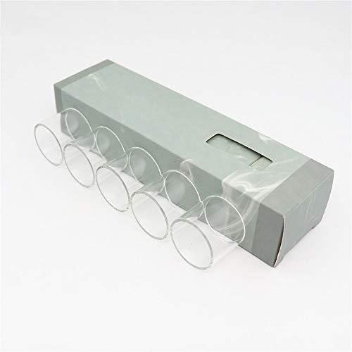 Denghui-ec, 5 STÜCKE Glasröhre für Geekvape Ammit MTL RTA 4 ml Glas Tank, Frei von Tabak und Nikotin (Bundle : Ammit MTL 4ML, Color : Clear)