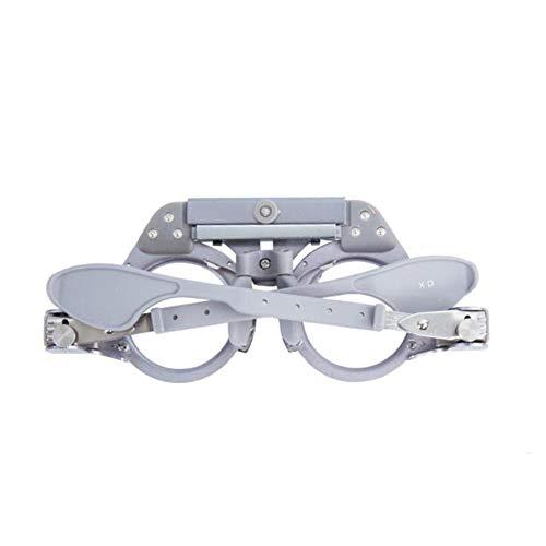 Instelbare professionele brillen Optometrie metalen frame optische testlens metalen frame PD brilmontuur PD 54-70 mm