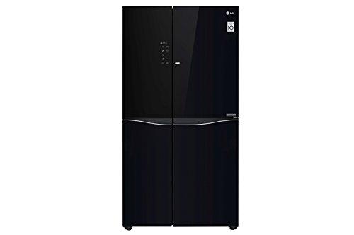 LG GSM860BMAV frigorifero side-by-side Incasso/libero Nero 618 L A+