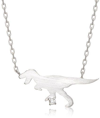 [ブルーム] 【WEB限定】シルバー ロジウムメッキ ダイヤモンド ティラノサウルス ネックレス BSPRB0013940