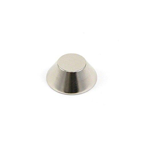 Magnet Expert 25 mm de diamètre extérieur x 13mm I.D. x 10 mm d'épaisseur N42 néodyme cône Magnet - 10.5 kg de traction (Paquet de 10)