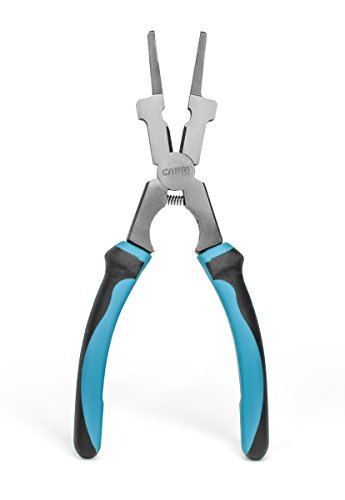 Capri Tools 10110 Premium Welding Pliers, 7.5 inch, black, blue