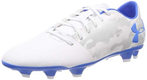 Under Armour UA Spotlight DL FG, Zapatillas de Fútbol Hombre, Azul (Blue Circuit//White 400), 42.5 EU
