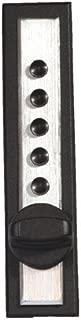 Kaba C9602-26D-41 Cabinet Lock Wood Endthrw Sl Us26D, Satin Chrome