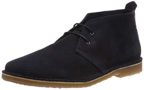 Jack & Jones Jfwgobi Suede, Stivali Desert Boots Uomo, Blu Navy Blazer, 45 EU