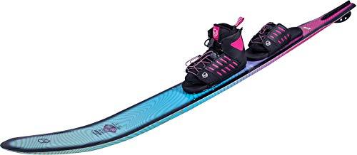 HO Fusion Freeride Womens Slalom Ski 65 W/Freemax/Art Bindings Womens Blue/Purple (5.5-9.5)