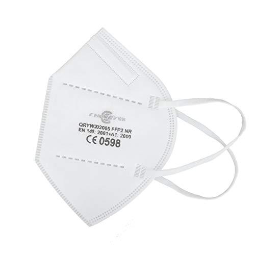 diogen 24 Stück FFP2 Maske, CE 0598 SGS Finnland, geprüft EN149:2001+A1:2009 FFP2 NR
