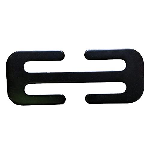 S SMAUTOP 52MM Sicherheitsgurt Clips Auto Metall Sicherheitsgurt Einsteller Automotive Locking Clip Gürtelschnalle Schulterschnalle Für Erwachsene Kinder zum Entspannen Schulter Hals Bequem