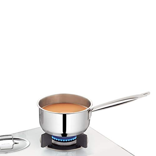 Borosil - Stainless Steel Sauce Pan with Lid, Impact Bonded...