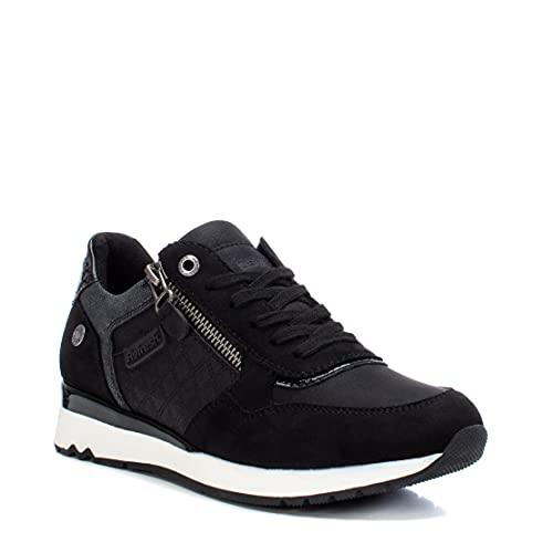 Refresh 77718, Zapatillas Mujer, Negro, 38 EU