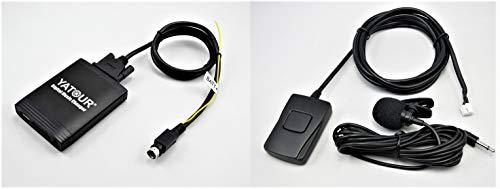 Yatour YTM06-VOLSC-BT Digitaler Musikadapter USB SD AUX Bluetooth Freisprecheinrichtung für Volvo SC, CD-Wechsler, Audio