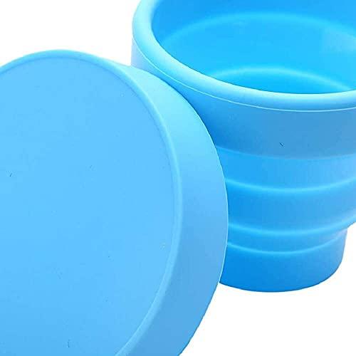 YuKeShop Coupe menstruelle vaginale et stérilisatrice pliable pour stériliser les tasses pliables et recyclables pour le camping
