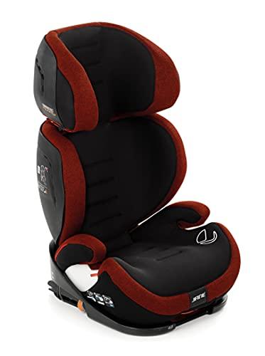 Jané 4587 T77 Iquartz Kindersitz Gruppe 2 3, von 100 bis 150 cm, mit Isofix, 11-Fach höhenverstellbar, 3-fach verstellbare Rückenlehne, braun