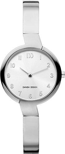 Danish Design dames analoog kwarts horloge met titanium armband IV62Q1201