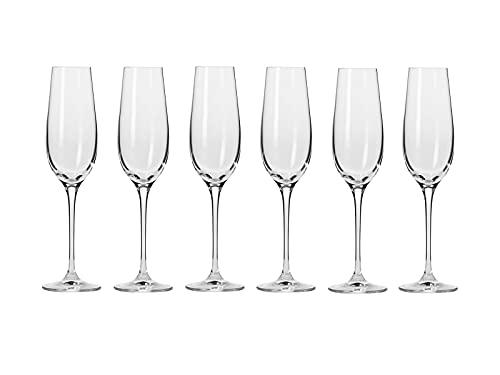 Krosno Harmony Champagne Flute 180ML 6pc Gift Boxed