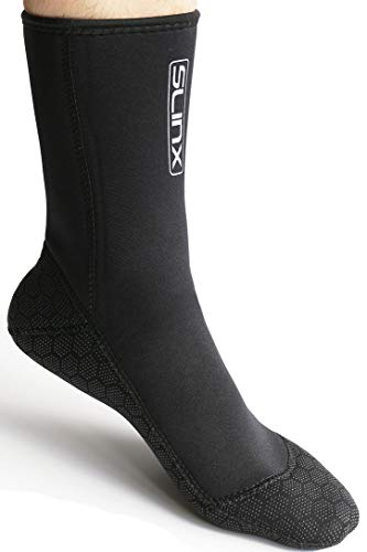 Micosuza Water Fin Sock 3mm Premium Neoprene Anti-Slip Wear-Resistant Diving Socks for Snorkeling Surfing Diving