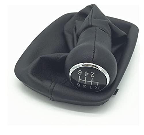 XINXIN LakerBig 5/6 Speed Car Styling Gear Shift KNOB Lever Stick Gaiter Cubierta DE Inicio Caja Ajuste para Audi A6 C5 A4 B5 A8 D2 1997 1998 1999 2000 2001 (Color Name : 6 Speed)