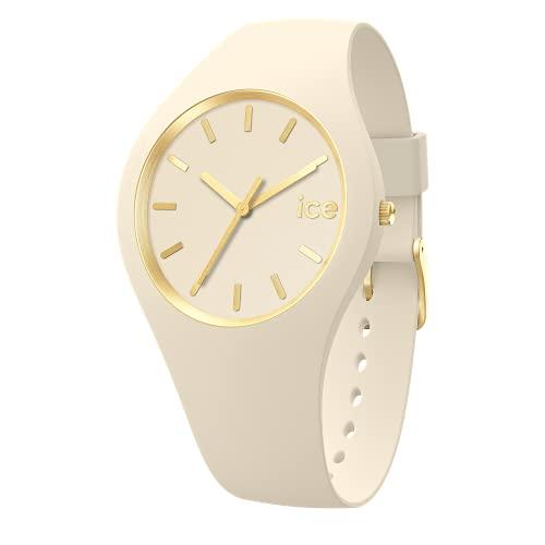 Ice-Watch - ICE glam brushed Almond skin - Reloj beige para Mujer con Correa de silicona - 019533 (Medium)