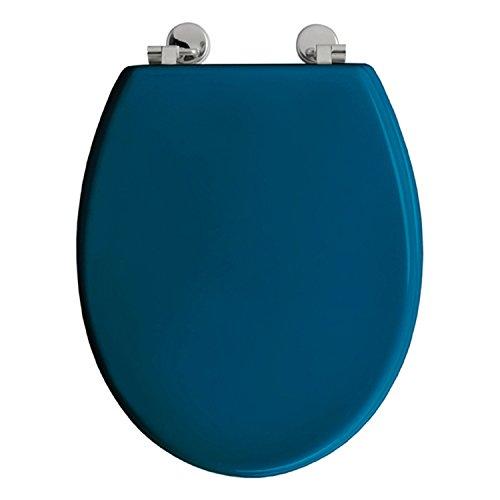 Allibert WC-Sitz Boliva–Holz–Blau Ente