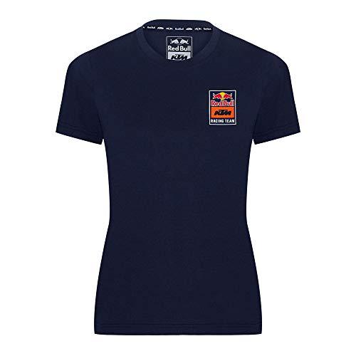 Red Bull KTM Backprint Camiseta, Mujeres X-Small - Original Merchandise