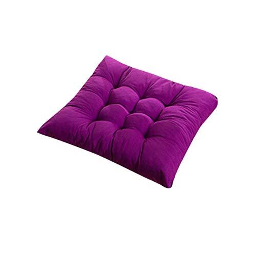 Wedge Kussen, Ergonomische Seat Kussen, ergonomisch gevormde Wedge Kussen, Seat Kussen ideaal als Stoelkussen in The Office & Seat Kussen in auto, vrachtwagen, Bus & Reizen,Purple