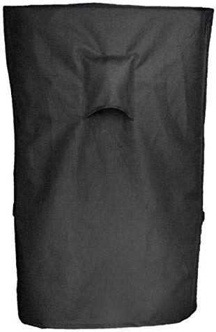 """iCOVER Smoker Cover- 25.5"""" LX19 D X 40"""" H 600D Square Smoker Cover Water Proof Canvas Heavy Duty for Masterbuilt 40-Inch Electric Smoker, Black, G21612"""