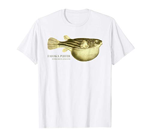 Fahaka Kugelfisch Aquarium Aquaristik Schaubecken Aquarianer T-Shirt