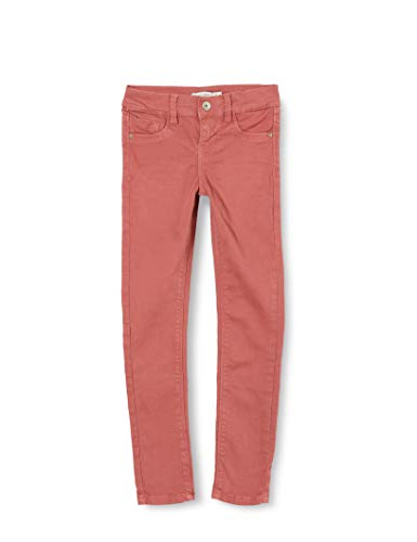 NAME IT Mädchen NKFPOLLY TWIATEXY Pant DT Jeans, Withered Rose, 134