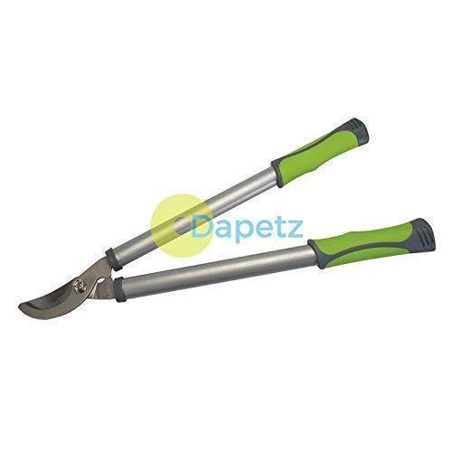 Dapetz® Bypass - Cisailles 535mm - Jardinage Main Outil Rubber-Coated Poignées Plastique