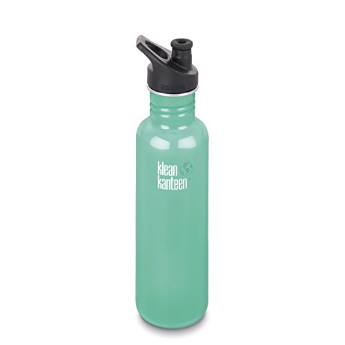 Klean Kanteen Classic Trinkflasche, Edelstahl, Tidal Pool, One Size