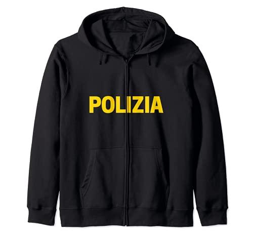 Polica local Uniforme de la polica de Estado La Polica Sudadera con Capucha