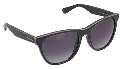 BOSS Orange BO 0198/S HD 9DR Gafas de sol, Negro (Black Dk Grey/Grey Sf), 54 Unisex-Adulto