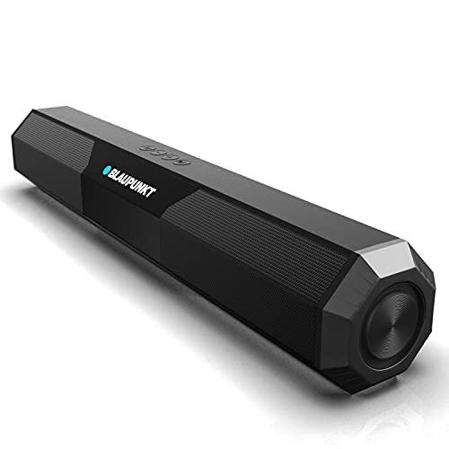 Blaupunkt SBA20 16W Bluetooth Soundbar Speaker for TV with Bluetooth, AUX, USB, TWS Mini Soundbar...