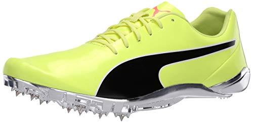 PUMA Unisex-Adult Evospeed Electric 8 Sneaker, Fizzy Yellowpuma Black, 5.5 M US