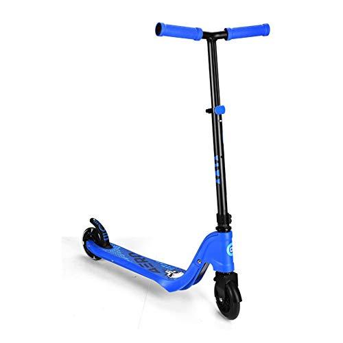 W-star Scooters, Scooters Plegables niños, Rodillo Regulable en Altura con PU Lichtrad, 360 ° -Vorderdrehung, adecuados para niños Mayores de 3 años
