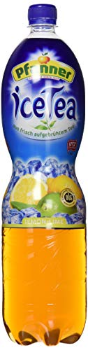 Pfanner Eistee Lemon-Lime, EINWEG PET, (6 x 1.5 l)