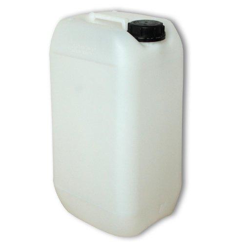 Wilai GmbH Lot de 50 bidons – Jerrican 15 L, HDPE Naturel, Ouverture DIN 61 qualité Alimentaire (50x22096)