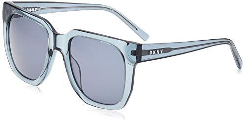 DKNY DK513S Gafas de sol, Crystal Cadet Blue, 53 MM, 20 MM, 135 MM para Mujer