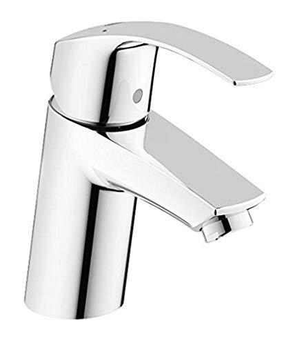 GROHE Eurosmart | Badarmaturen - Einhand-Waschtischbatterie, DN 15 S-Size | Einlochmontage | chrom | 32467002